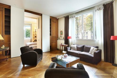 Luxus-Wohnung zu verkaufen PARIS 8E, 102 m², 2 Schlafzimmer, 1890000€