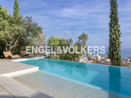 Villa de luxe à vendre ROQUEBRUNE CAP MARTIN, 230 m², 3 Chambres