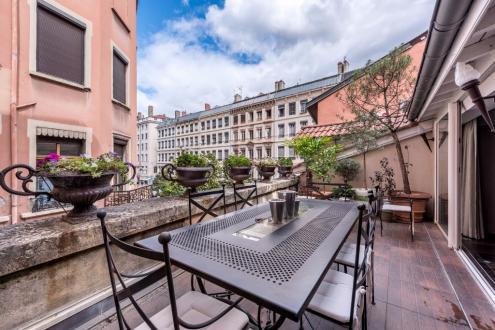 Luxus-Wohnung  zu vermieten LYON, 75 m², 2 Schlafzimmer