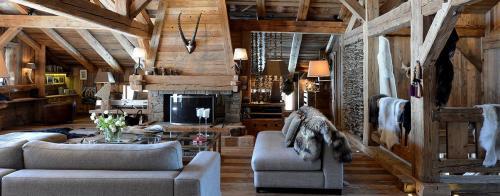 Chalet de luxe à louer MEGEVE, 600 m²,