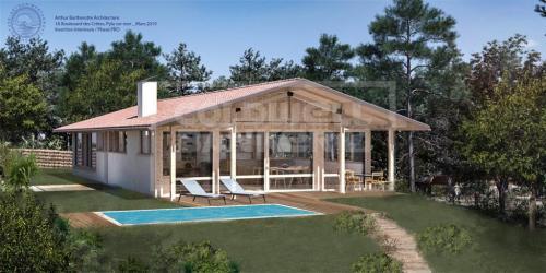 Luxus-Grundstück zu verkaufen PYLA SUR MER, 1100 m², 980000€