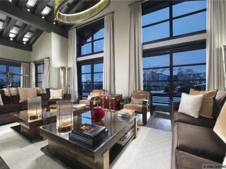 Maison de luxe à louer COURCHEVEL, 1300 m², 5 Chambres