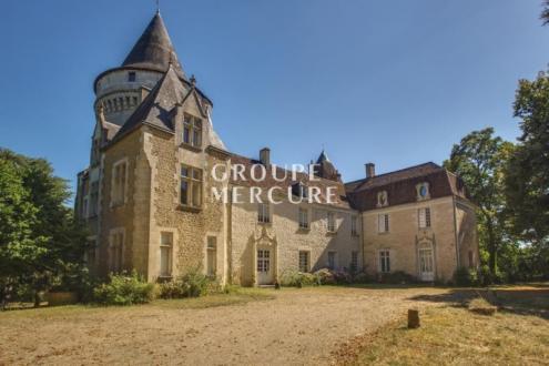 Luxus-Schloss / Herrenhaus zu verkaufen CHATEAUROUX, 815 m², 18 Schlafzimmer