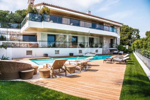 Maison de luxe à louer SAINT JEAN CAP FERRAT, 500 m², 5 Chambres