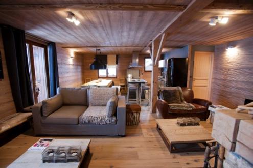 Chalet de luxe à louer LA PLAGNE, 140 m², 5 Chambres,