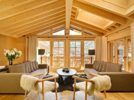 Chalet de luxe à louer Zermatt, 500 m², 6 Chambres,