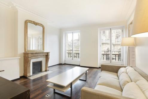 Luxe Appartement te huur PARIS 7E, 74 m², 1 Slaapkamers