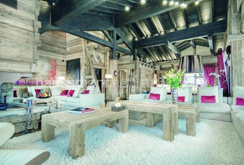 Chalet de luxe à louer COURCHEVEL, 1350 m², 8 Chambres