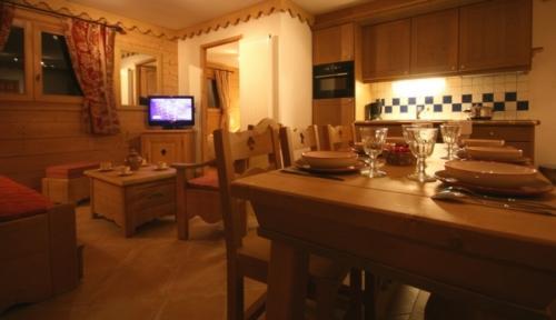 Luxus-Wohnung zu vermieten LE GRAND BORNAND, 40 m², 1 Schlafzimmer