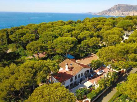 Villa de luxe à vendre ROQUEBRUNE CAP MARTIN, 490 m², 4 Chambres