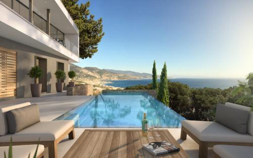 Luxury Villa for sale ROQUEBRUNE CAP MARTIN, 305 m², 5 Bedrooms, €7500000