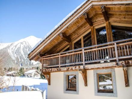 Luxury Chalet for rent CHAMONIX MONT BLANC, 185 m², 4 Bedrooms,