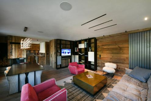Luxus-Wohnung zu vermieten MEGEVE, 90 m², 3 Schlafzimmer,