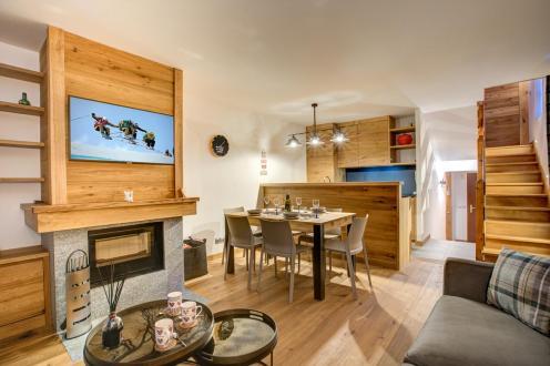 Chalet de luxe à louer CHAMONIX MONT BLANC, 100 m², 3 Chambres,