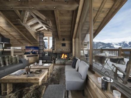 Luxus-Chalet zu vermieten COURCHEVEL, 220 m², 5 Schlafzimmer