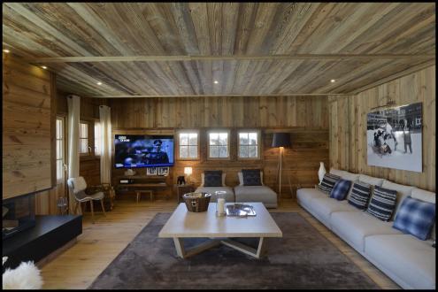 Luxury Chalet for rent MEGEVE, 300 m², 4 Bedrooms