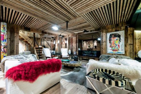 Luxury Chalet for rent MEGEVE, 350 m², 6 Bedrooms,