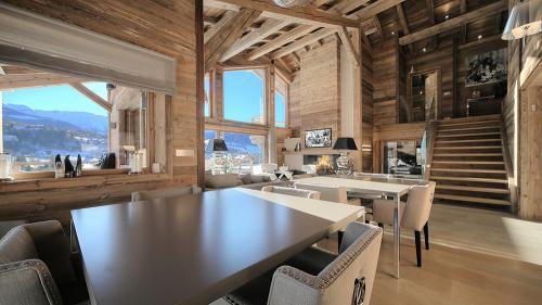 Casale di lusso in affito MEGEVE, 300 m², 6 Camere,