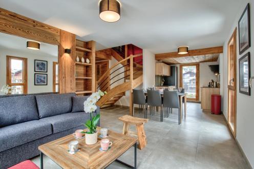 Appartement de luxe à louer CHAMONIX MONT BLANC, 82 m², 3 Chambres,