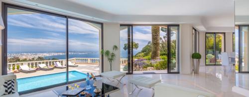 Luxe Huis te huur CANNES, 600 m², 8 Slaapkamers