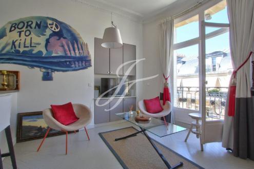 Luxus-Wohnung  zu vermieten PARIS 16E, 75 m², 2 Schlafzimmer