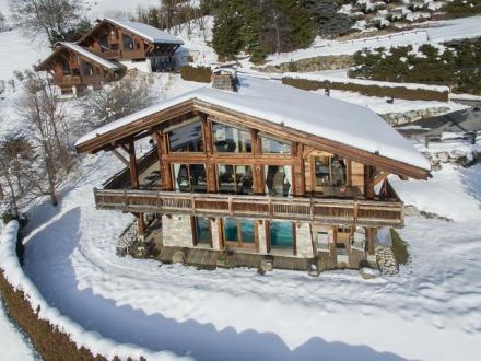 Luxury Chalet for rent MEGEVE, 300 m², 6 Bedrooms