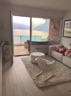 Квартира класса люкс в аренду Люгано, 100 м², 2 Спальни