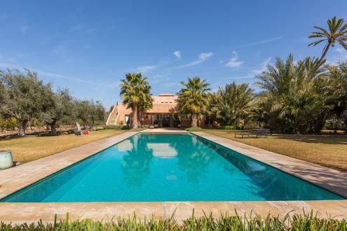 Luxus-Villa zu verkaufen MARRAKECH, 6 Schlafzimmer, 3300000€