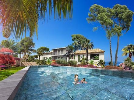 Luxus-Wohnung zu verkaufen SAINTE MAXIME, 123 m², 3 Schlafzimmer, 1127300€