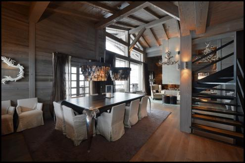 Luxury Chalet for rent MEGEVE, 500 m², 5 Bedrooms