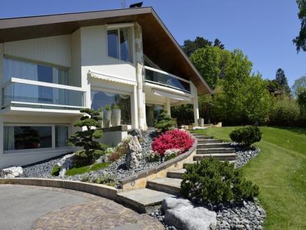 Maison de luxe à louer VEYRIER DU LAC, 300 m², 5 Chambres