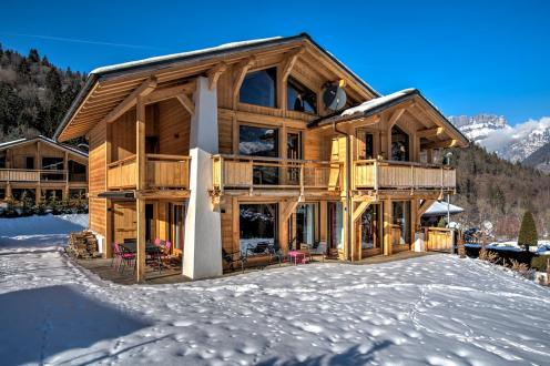 Luxury Chalet for rent CHAMONIX MONT BLANC, 1 m², 5 Bedrooms,