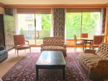 Luxus-Wohnung  zu vermieten PARIS 16E, 74 m², 1 Schlafzimmer