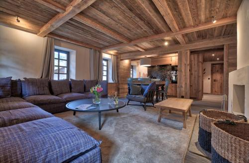 Квартира класса люкс в аренду Межев, 74 м², 2 Спальни,
