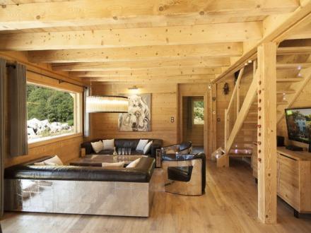 Chalet de luxe à louer CHAMONIX MONT BLANC, 170 m², 5 Chambres,