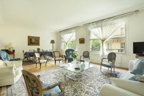 Luxus-Wohnung zu verkaufen PARIS 8E, 145 m², 3 Schlafzimmer