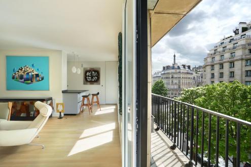 Luxus-Wohnung zu verkaufen PARIS 8E, 80 m², 1 Schlafzimmer