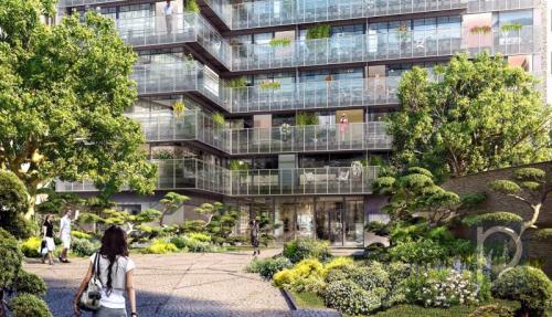 Appartement de luxe à vendre PARIS 14E, 108 m², 3 Chambres