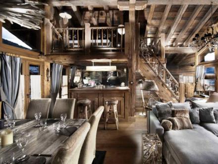 Luxus-Chalet zu vermieten COURCHEVEL, 250 m², 5 Schlafzimmer,