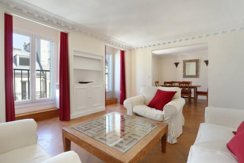 Luxe Appartement te huur PARIS 8E, 56 m², 1 Slaapkamers