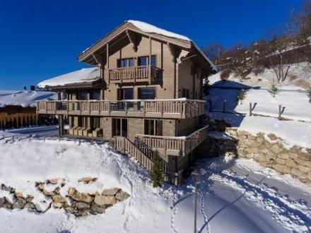 Chalet de luxe à vendre Crans-Montana, 234 m², 4 Chambres