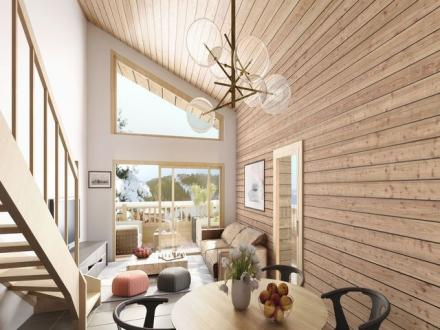 Appartamento di lusso in affito LA CLUSAZ, 128 m², 5 Camere,