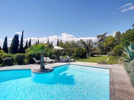 Villa de luxe à vendre MOUANS SARTOUX, 250 m², 5 Chambres, 1850000€