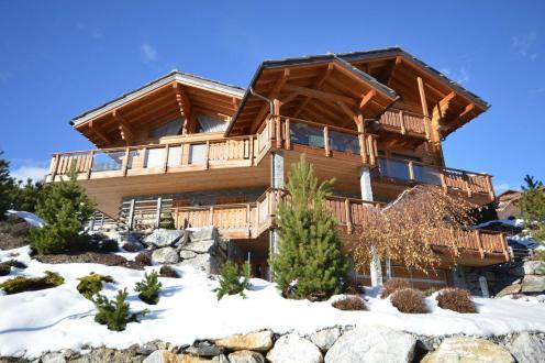 Chalet de luxe à vendre Crans-Montana, 522 m², 5 Chambres