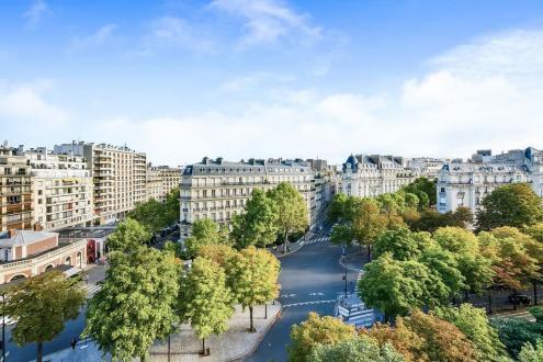 Luxus-Wohnung  zu vermieten PARIS 16E, 90 m², 1 Schlafzimmer