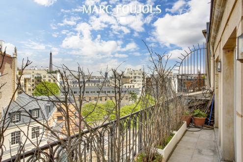 Luxus-Wohnung zu verkaufen PARIS 16E, 180 m², 5 Schlafzimmer, 3120000€