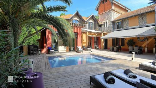 Luxury Villa for rent CANNES, 260 m², 4 Bedrooms