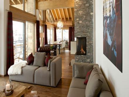 Luxury Apartment for rent Zermatt, 240 m², 4 Bedrooms,