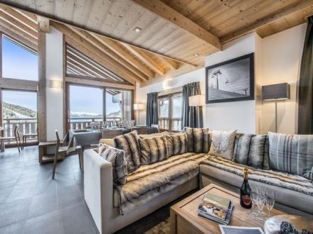 Квартира класса люкс в аренду Куршевель, 112 м², 4 Спальни,