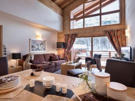 Maison de luxe à louer TIGNES, 55 m², 1 Chambres,